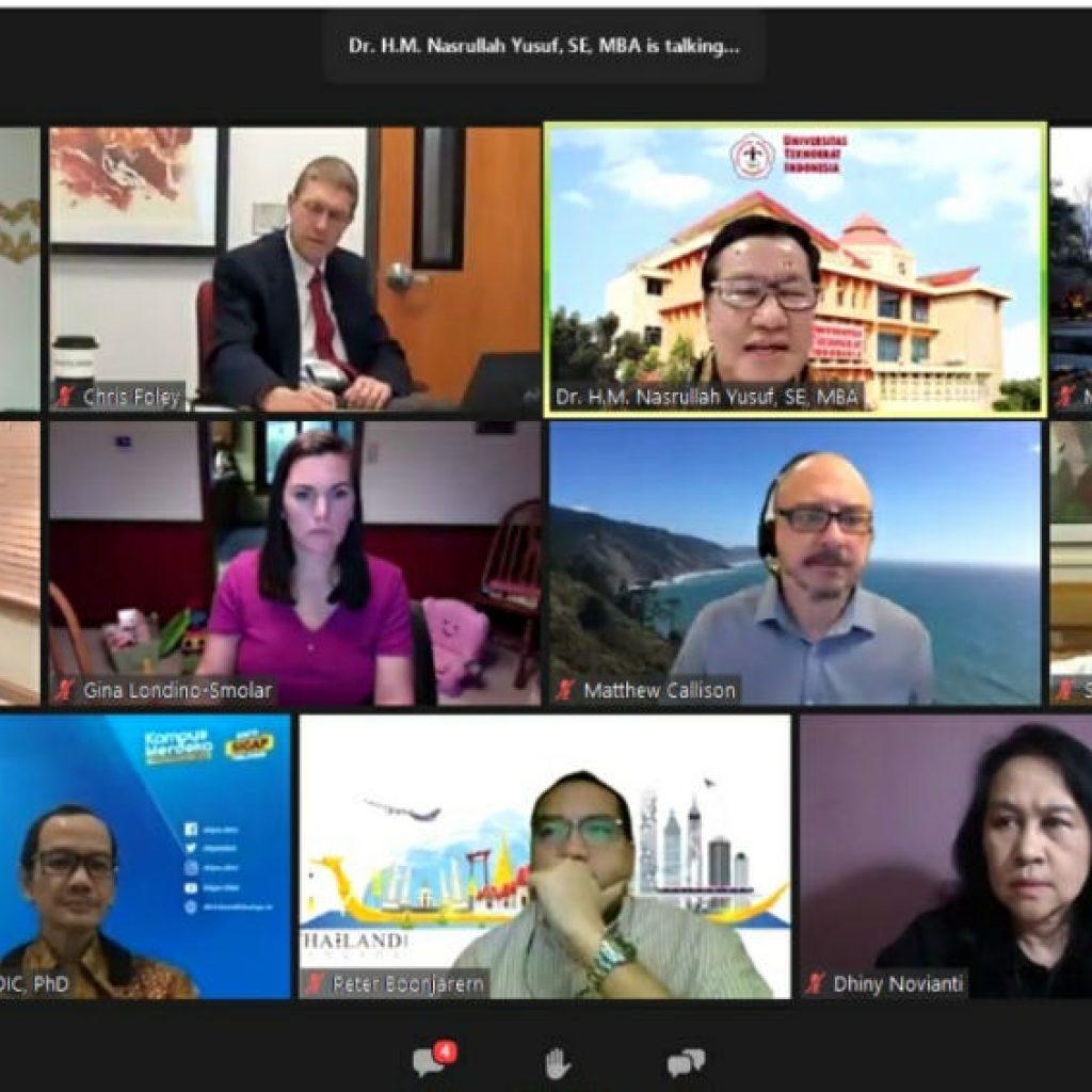Pembelajaran Online Lebih Menonjol dan Penting sejak Pandemi COVID-19 di Universitas Teknokrat Indonesia